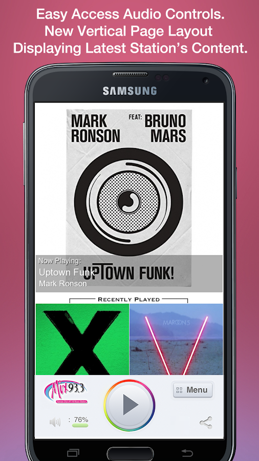 Mix 93.3- screenshot