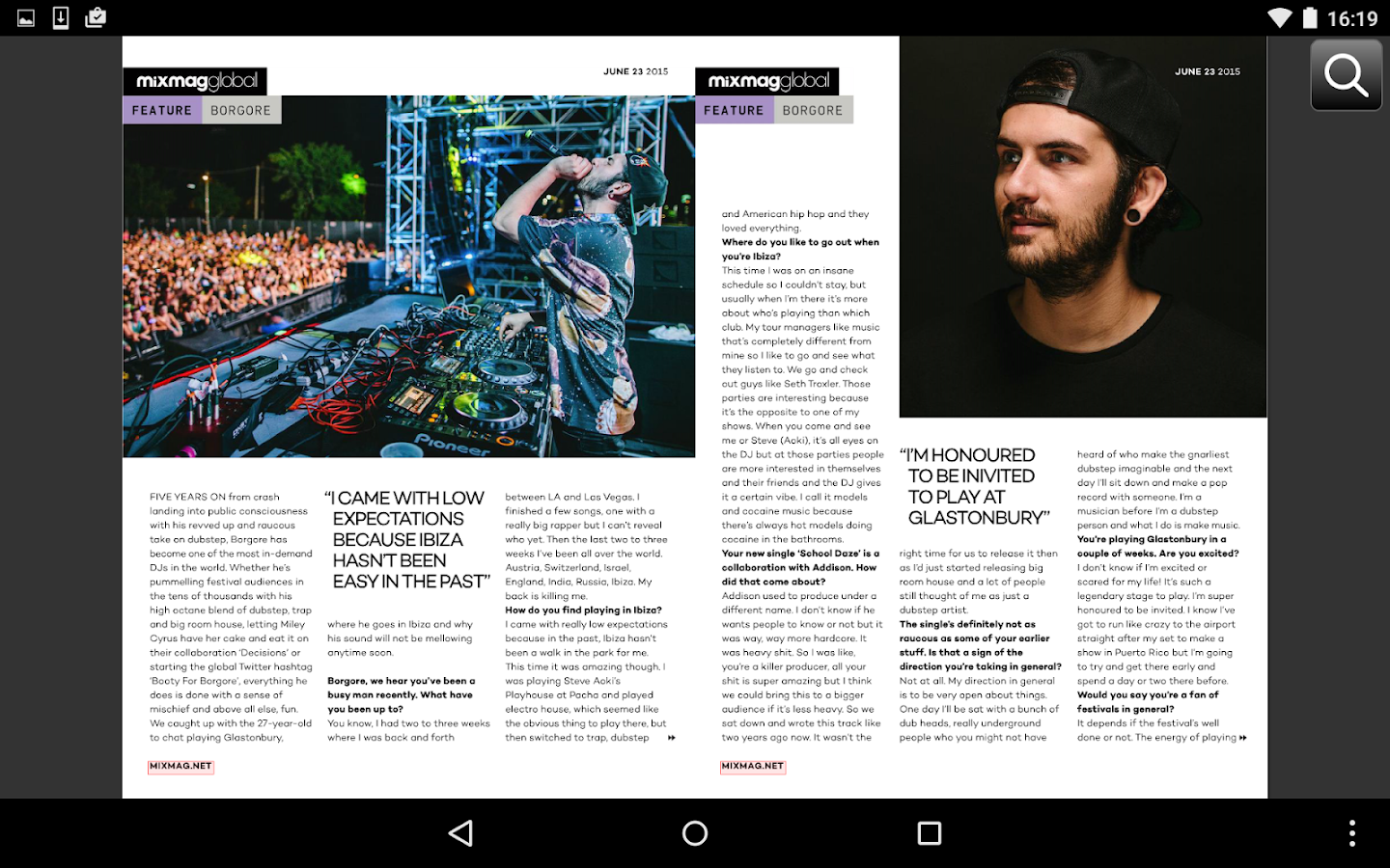 Mixmag Global- screenshot
