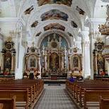 Engelberg Abbey in Engelberg, Obwalden, Switzerland