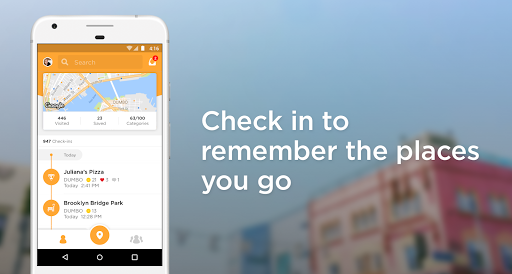 Foursquare Swarm: Check In  screenshots 1