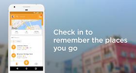 screenshot of Foursquare Swarm: Check In