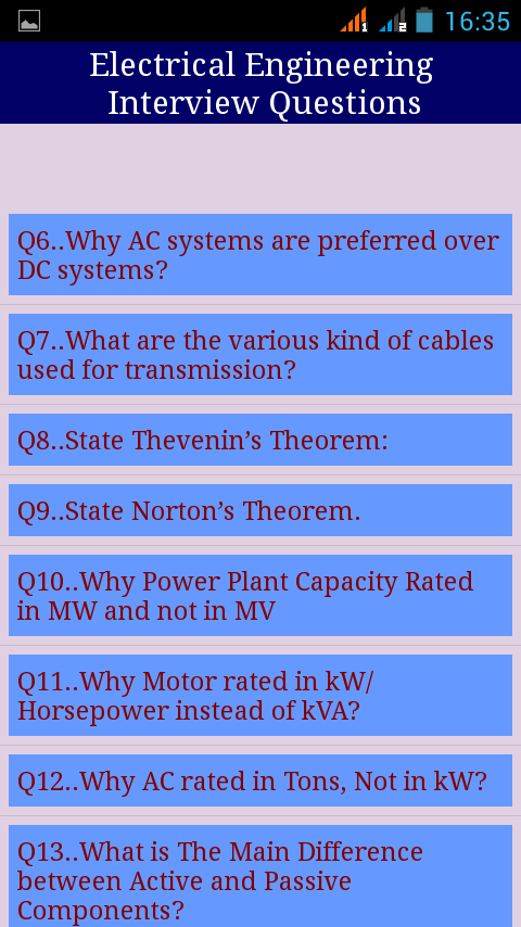 engineering interview questions