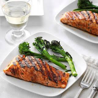 Spice-Rubbed Salmon.