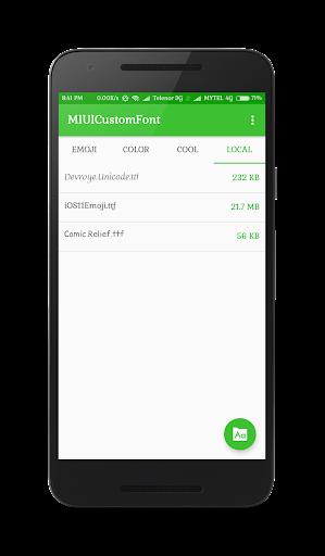 MIUI Custom Font Installer screenshot 4