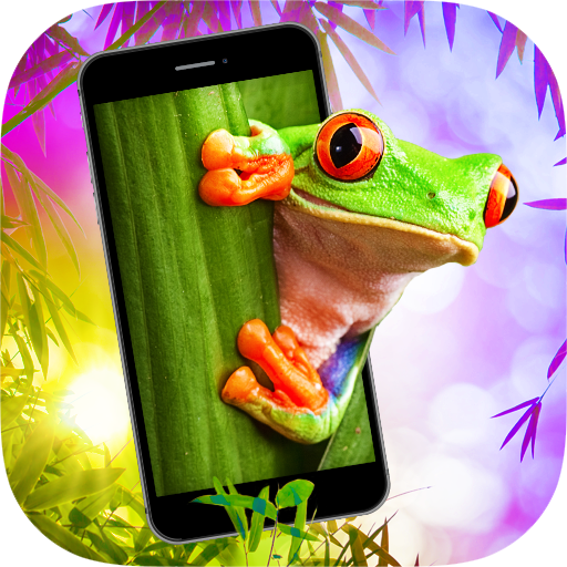 Frog in Phone - Frog Prank Icon
