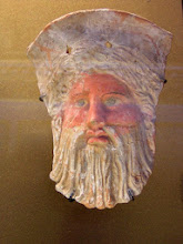 Photo: Terracotta head .......... Terracotta hoofd