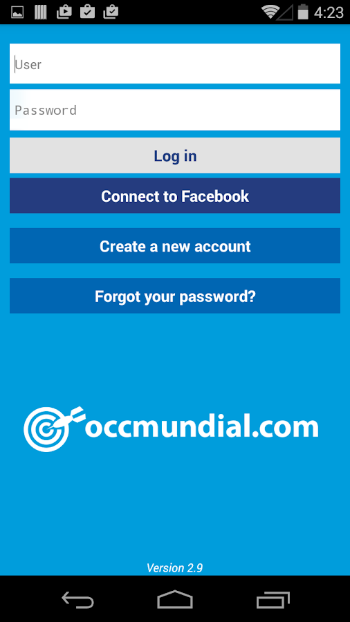 OCCMundial- screenshot