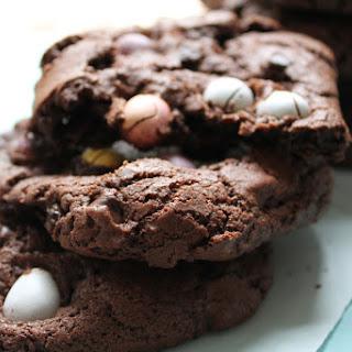 Crackled Mini Egg Cookies