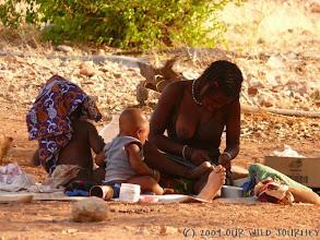 Photo: Himba relax