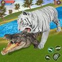 Virtual Tiger Family Simulator: Wild Tiger Games icon