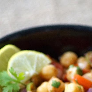 Chana Chaat Recipe ~ White Chickpeas Chaat Recipe ~ Indian Chaat Recipes