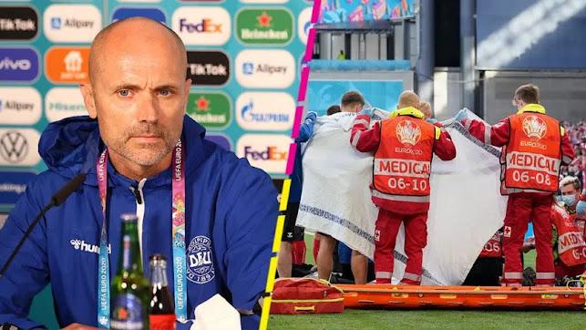 Morten Boesen es el médico de la selección danesa.