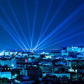 Lighting Up the Sky by Arsath Farvesh [aha photographs] - City,  Street & Park  Night