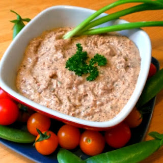 Amazing Garlic Almond Dip