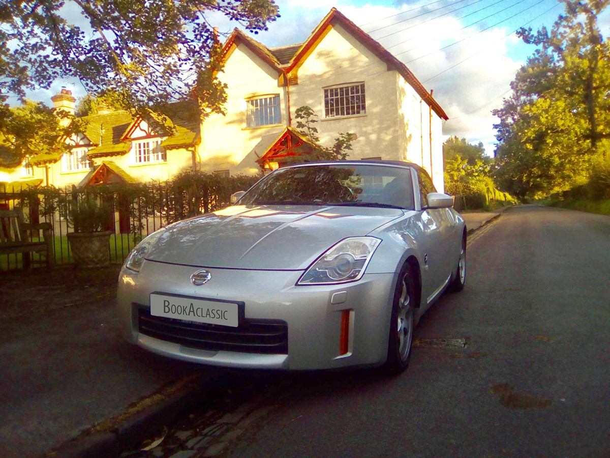 Nissan 350z Hire Manchester