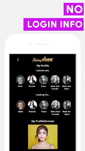 fantasy findr: local social networking app screenshot 1