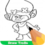 How To Draw Trolls APK icon