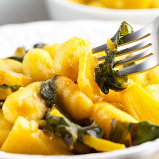 Curried Gnocchi with Golden Beets