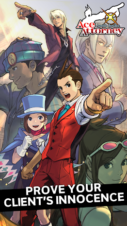 Apollo Justice Ace Attorney 1.00.01 Apk + Data