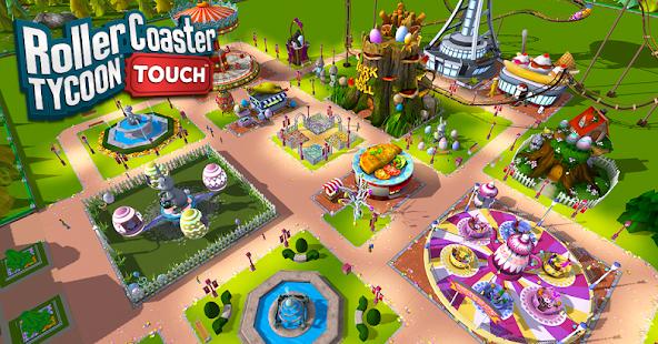 RollerCoaster Tycoon Touch google play ile ilgili görsel sonucu