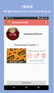 Giveaway Master Screenshot