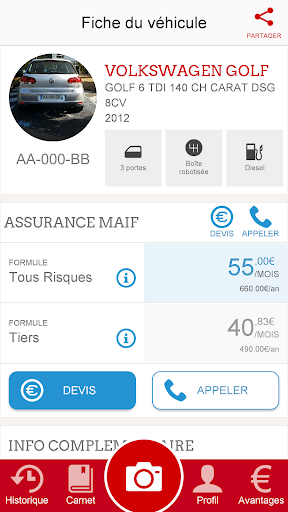 Coach Auto MAIF screenshot