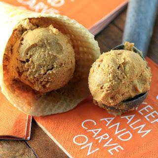 Pumpkin Toffee Ice Cream