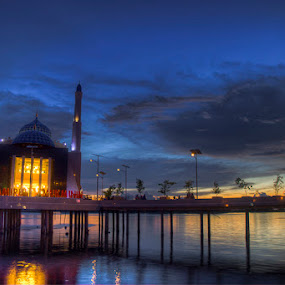 Floating Mosque by The-dee Syafta - Buildings & Architecture Public & Historical
