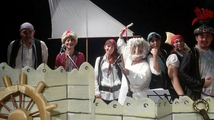Integrantes de la Asociación Cultural Teatro ABBA de Almería.