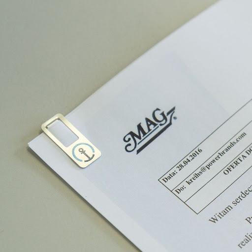 Markclip Branded Paperclip