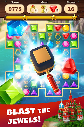 Jewels Planet - Free Match 3 & Puzzle Game screenshots 2