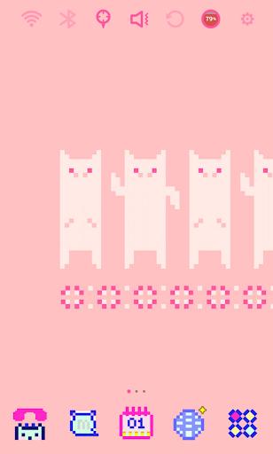 Pixel Art - Pink Pig Theme
