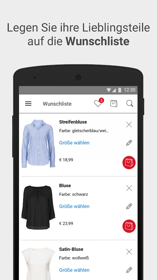 bonprix – shopping, fashion & more- screenshot