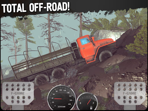 Off-Road Travel: 4x4 hill climb apkpoly screenshots 11