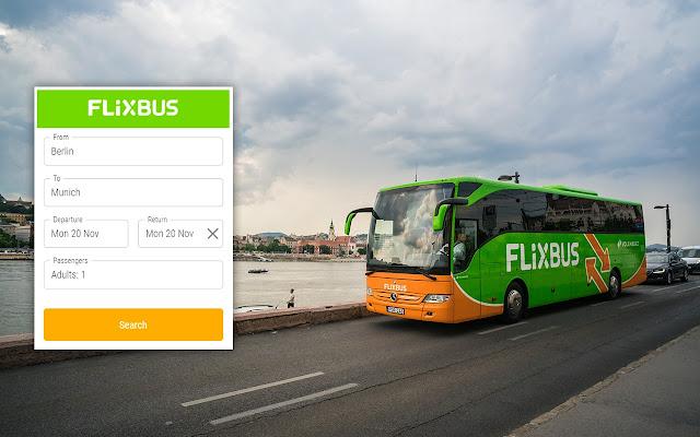 FlixBus Booking Widget