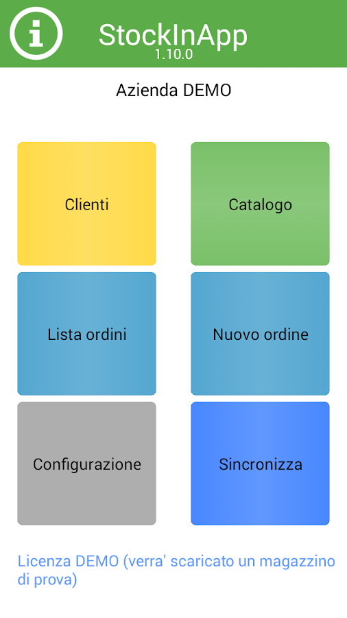 Catalogo Agenti StockInApp- screenshot