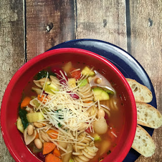 The Best Homemade Minestrone (and easiest cleanup)