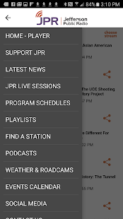 Jefferson Public Radio- screenshot thumbnail
