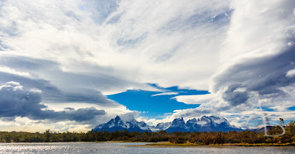 Photo: Clouds over Paine