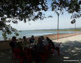 Photo: Lunch at Aticama after a big morning of birding at Tecuitata