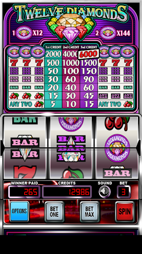 Twelve Diamonds | Slot Machine android2mod screenshots 6