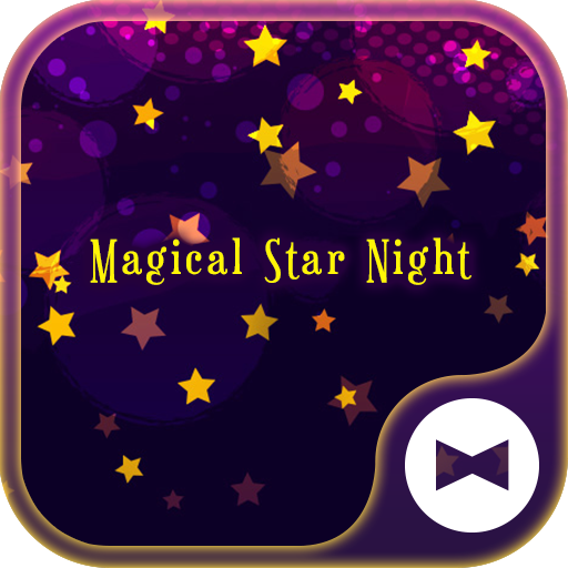 Fantsy Wallpaper Magical Star Night Theme Icon
