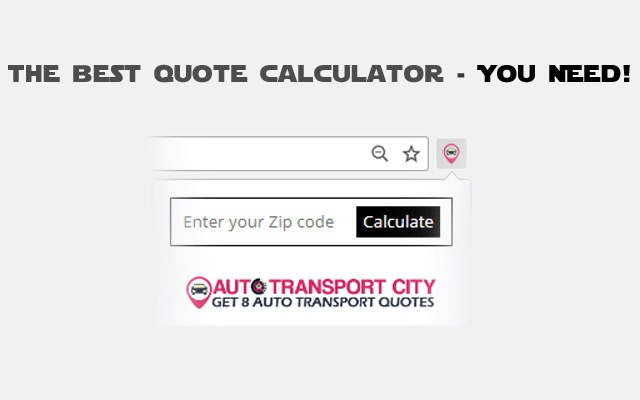 Auto Transport Quote Calculator