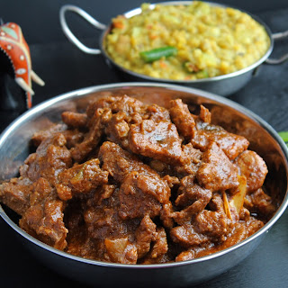 Sri Lankan Pork Badun Curry (Deviled Pork).