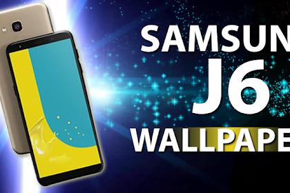 Samsung Galaxy J6 Black Wallpaper