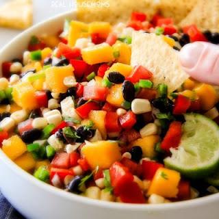 Mango Black Bean Salsa.