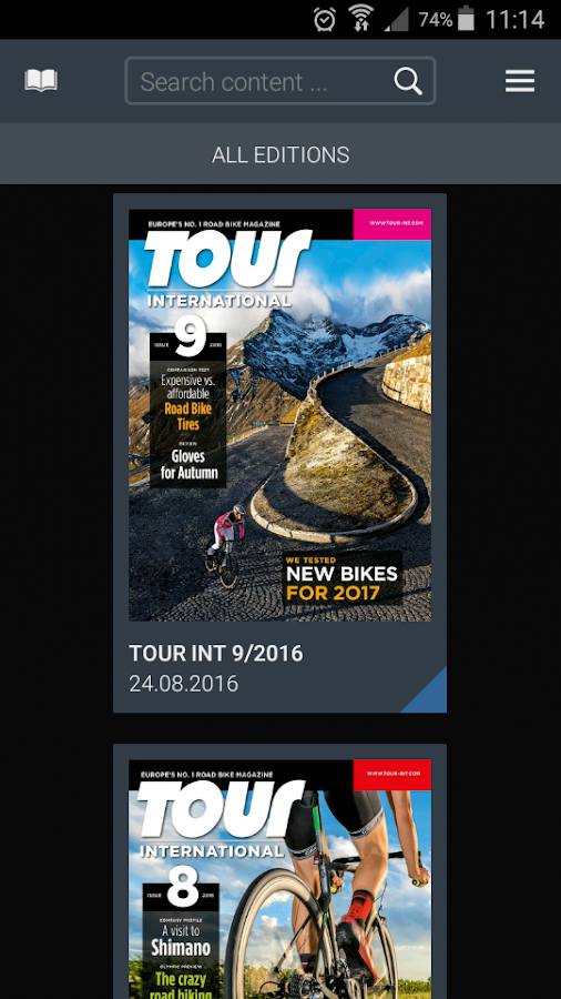 TOUR INTERNATIONAL- screenshot
