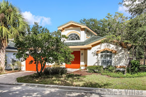 Orlando villa, very close to Disney, gated community, secluded pool and spa
