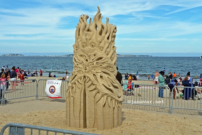 Visited: Revere Beach International Sand Sculpture Festival 2015