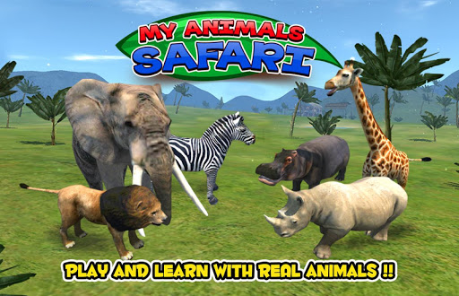 My Animals - Safari Kids Game